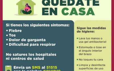 Gobierno de la Ciudad de México dice a la población: #QuédateEnCasa