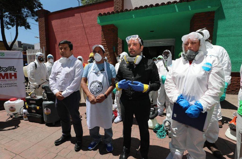 Alcaldía Miguel Hidalgo inicia programa de sanidad para mercados
