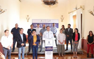 Municipio de SLP presenta programa emergente de reactivación económica