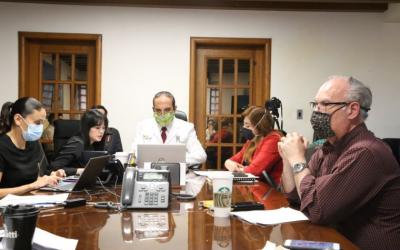 Secretaría de Salud de NL recibe asesoría de Corea del Sur contra COVID-19