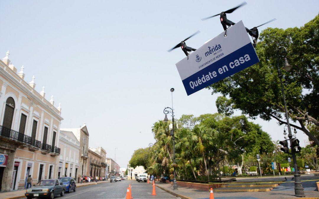 Tecnología, aliada de Mérida en el combate al Covid-19: Renán Barrera