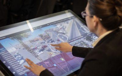 A la vanguardia tecnología en seguridad ciudadana