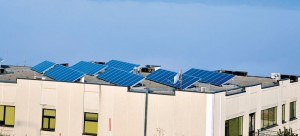 Casas con celdas solares