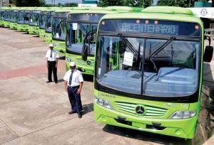 Flotilla de Microbuses