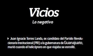 Vicios, Beneficios, Julio, 2013