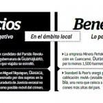 Vicios y Beneficios. Julio 2013