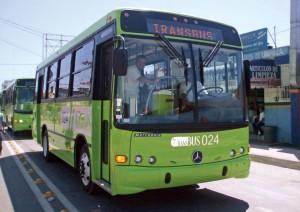 calle microbuses