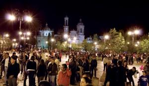Guadaluoe zacatecas noche