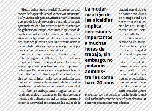 Héctor Robles texto