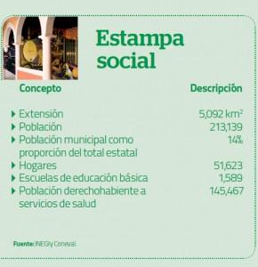 Estadistica Estama Social Fresnillo Noviembre 2013