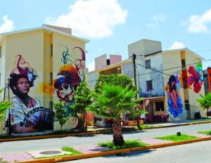 Edificios pintados