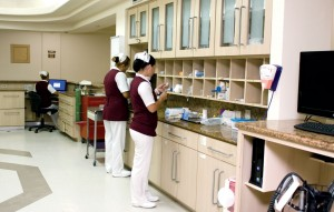 Central enfermeras