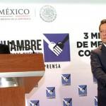 Alcanza México 74% en cumplimiento de objetivos del milenio