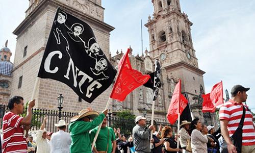 CNTE, Oaxaca, SEP