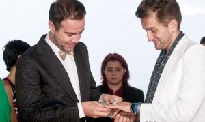 Matrimonio Gay Minuta Local Agoto 2013