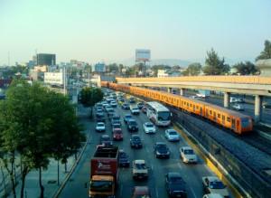 Tráfico ciudad de mexico