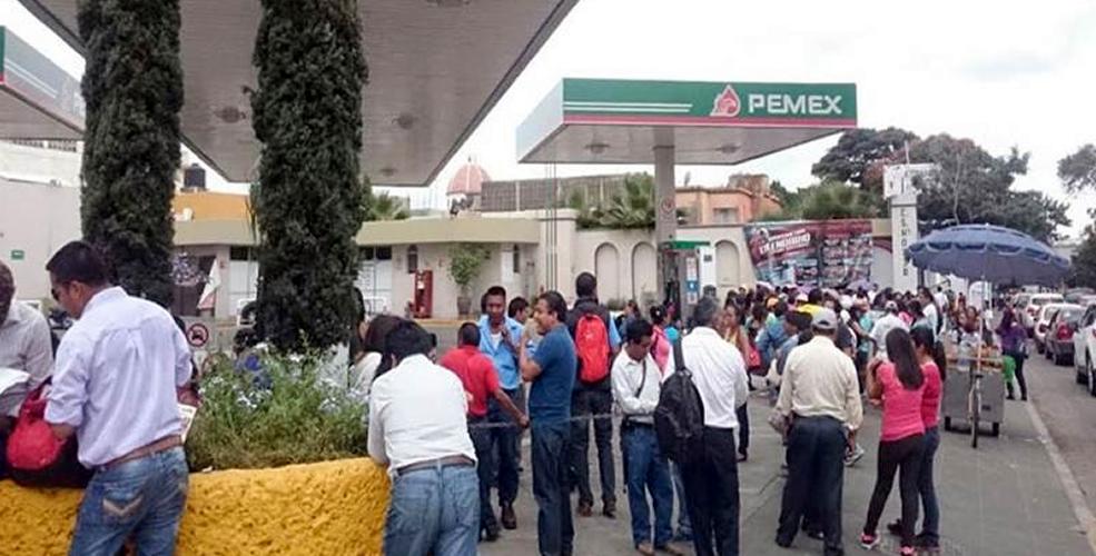 CNTE, Gasolineras, Oaxaca