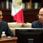 """Respeto trabajo de Peña Nieto porque es """"tan difícil"""" su cargo: Calderón"""