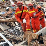 Tras el sismo en China ya van 589 muertos