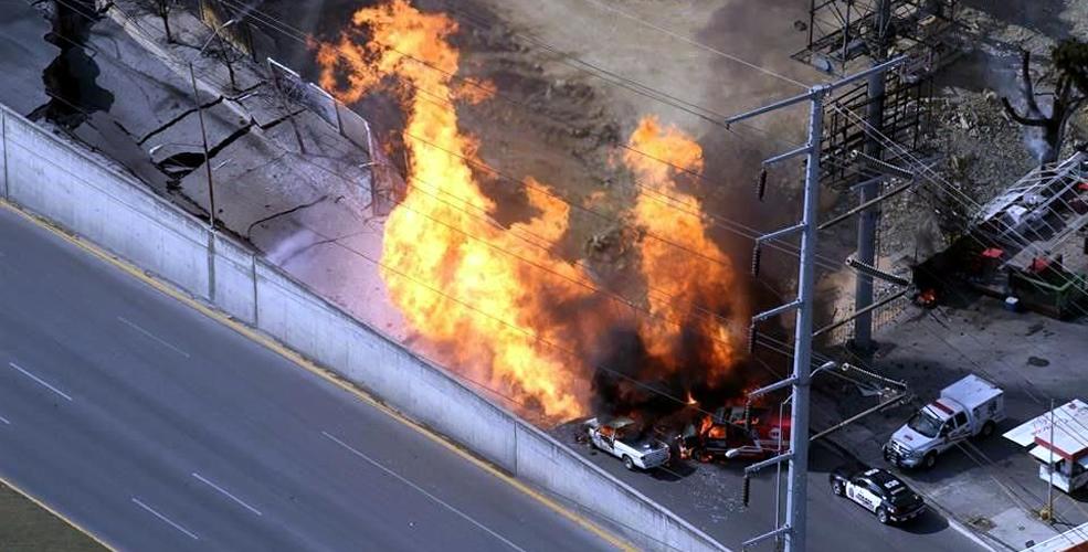 Explosión, Gas, Monterrey
