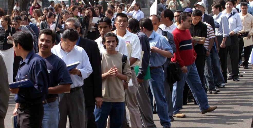 Desempleo, INEGI, DF