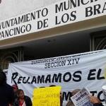 Sindicato toma ayuntamiento de Chilpancingo