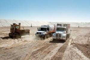 Basurero camiones de basura