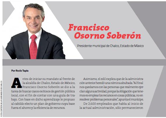 Francisco Osorno Soberón
