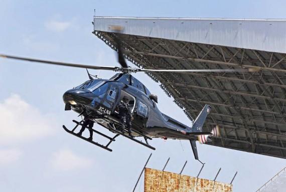 Helicoptero Seguridad Pública