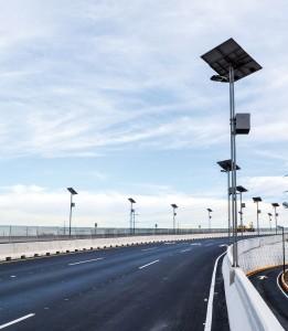 Iluminación panl solar