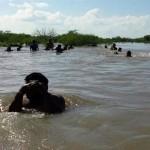 Bajo el agua varias comunidades rurales en Tamaulipas