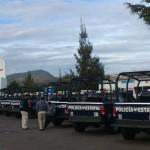 Continúa paro de labores de la policía estatal de Oaxaca