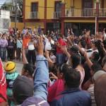Habitantes de San Antonio de la Cal, Oaxaca, exigen elecciones extraordinarias