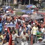 Se esperan marchas en el DF por informe presidencial