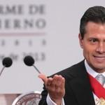 Rinde Enrique Peña segundo informe de gobierno