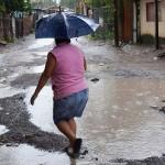 57 casas son afectadas por las lluvias en Guerrero