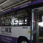 Autobús sustentable es opción para el D.F.