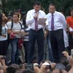 Osorio Chong recibe pliego petitorio del IPN, dará respuesta el viernes