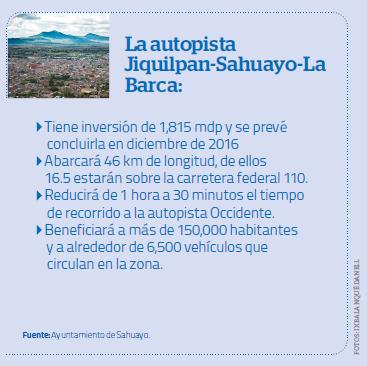 La autopista Jiquilpan-Sahuayo-La Barca