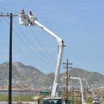 Restablecen en su totalidad el servicio eléctrico en BCS