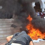 Saquean ayuntamiento e incendian documentos en Tlapa, Guerrero