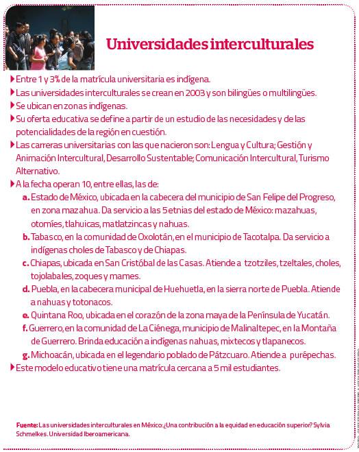 Universidades interculturales