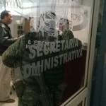 Ejército irrumpe en Universidad Autónoma de Coahuila