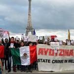 Solidaridad en México y el mundo por Ayotzinapa