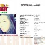Se activa alerta amber para localizar a Ana Lezly Colón Carrillo