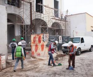Construcción del Hotel solar de las Animas Tequila