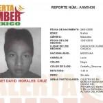Se activa Alerta Amber para localizar al niño Jesset David Morales