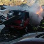 Las tragedias más recientes por traslado de combustibles