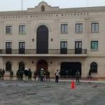 Lanzan explosivo a alcaldía de Matamoros