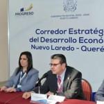 Querétaro y Nuevo Laredo establecerán corredor estratégico